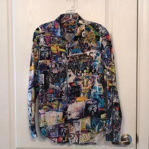 Men's XS Robert Graham Button Down Shirt